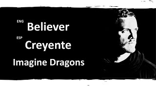 Download Believer Imagine Dragons Lyrics Letra Español English Sub MP3 song and Music Video