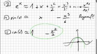 11.02 Polynome angewendet, Näherung, Interpolation, Differentialgleichung
