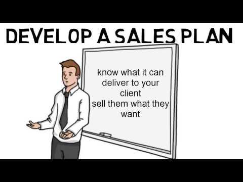 Develop a Sales Plan