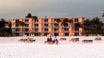 Outrigger Hotel Sunset views Estero Island Fort Myers Beach Florida