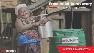 Nepal Earthquake - From relief to recovery (Water and Sanitation)