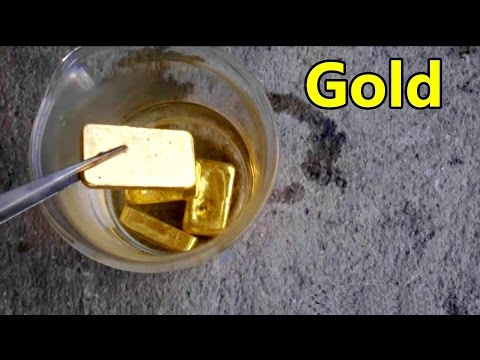 Thumbnail: Gold Refinery Refining Gold Recycle Gold extraction