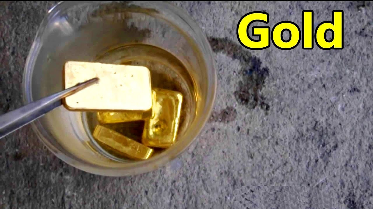 gold refining extraction recycle