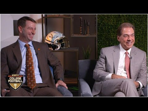 Alabama's Nick Saban, Clemson's Dabo Swinney ready for fourth CFP showdown | College Football Sound