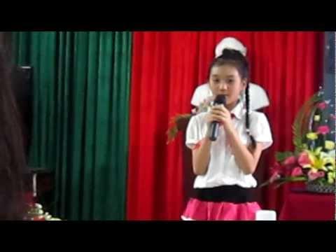 thi kể chuyện sách trường thcs Thống Nhất Huế-  Kim Ngân  lớp 6/6