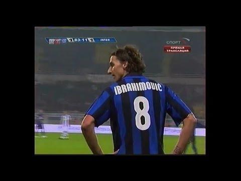 Zlatan Ibrahimovic | Juventus 1-1 Inter | 2007-08 Serie A Round 11
