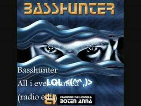 Клип Basshunter - All I Ever Wanted - Radio Edit