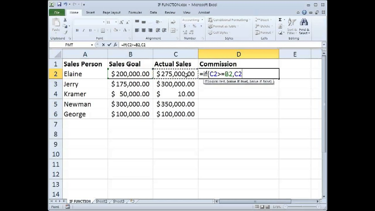 how to add or to if function in excel