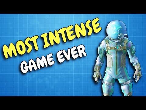Most Intense Win Ever. (Fortnite)