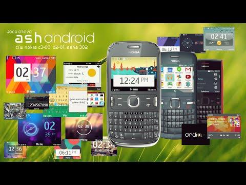 S40 Editor: AshAndroid CFW (Nokia C3-00, X2-01, Asha 302)