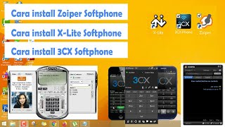 Cara install aplikasi softphone (X-lite , Zoiper dan 3CX Phone)    How to install softphone for VOIP screenshot 5