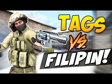 CS:GO - Дуэль на Револьверах! (TaGs vs. Filipin)