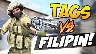 CS GO - Дуэль на Револьверах TaGs vs. Filipin