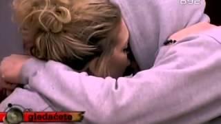 Veliki Brat VIP - Ava i Zeljko se ljube (06.04.2013)