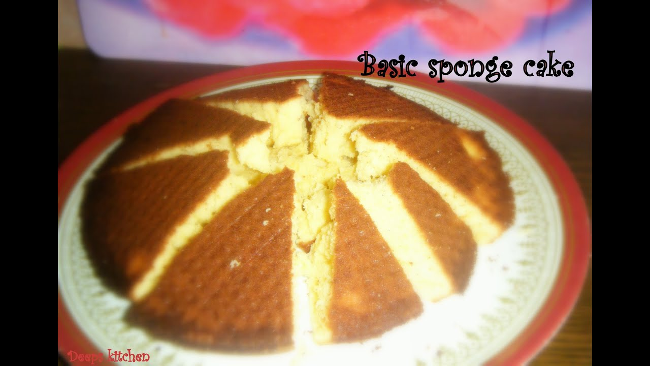 Basic sponge cake recipe in tamil youtube basic sponge cake recipe in tamil forumfinder