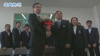タイの高校生が県教育長を訪問