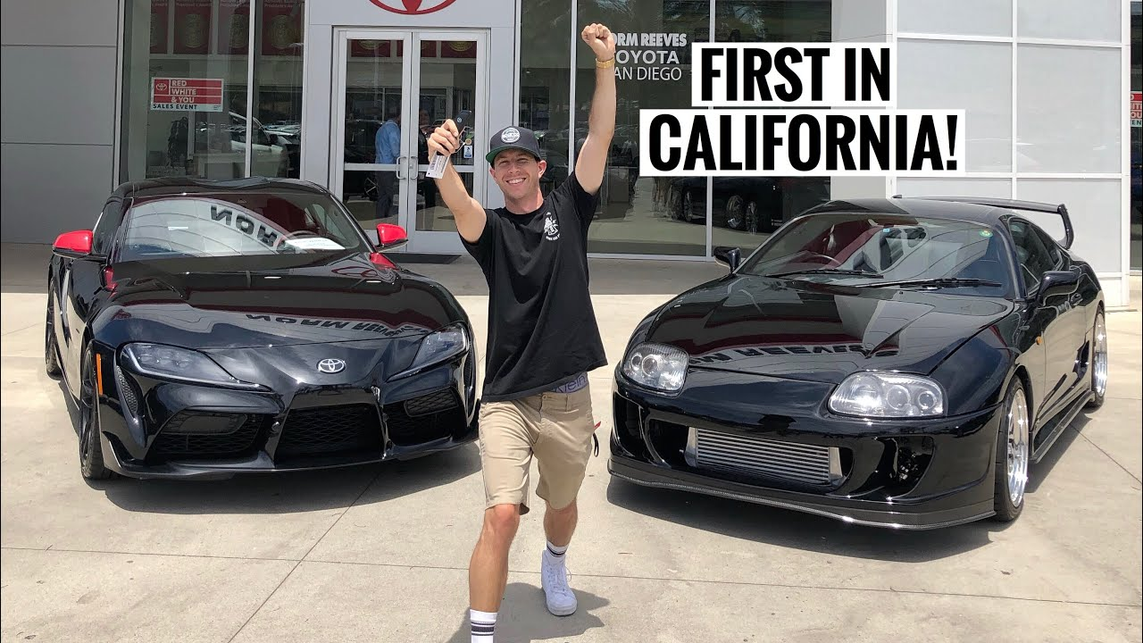 TAKING DELIVERY OF MY 2020 TOYOTA SUPRA! - Tj Hunt