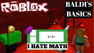 Roblox - Baldi's Basics - I Hate Math
