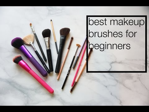 Beginner's Guide to Makeup Brushes ♥ Faves ♥ #Makeup4Dummies