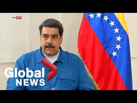 Maduro compares Trump to KKK leader as Venezuelan crisis continues