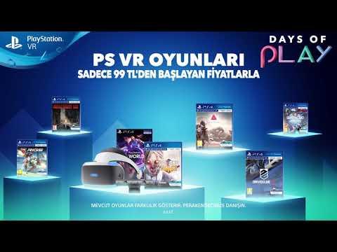 Days of Play | İndirim Günleri - PlayStation VR Özel Fırsatı