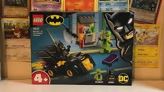 LEGO Batman.Batman Vs The Riddlers Robbery Set 76137 Review Plus Speed Build!