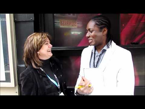 Interview: Nicki French (UK 2000) - London Eurovision Party 2012 | wiwibloggs