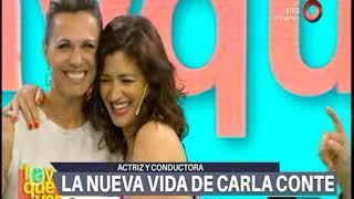 El fuerte cruce de Carla Conte y Hanglin