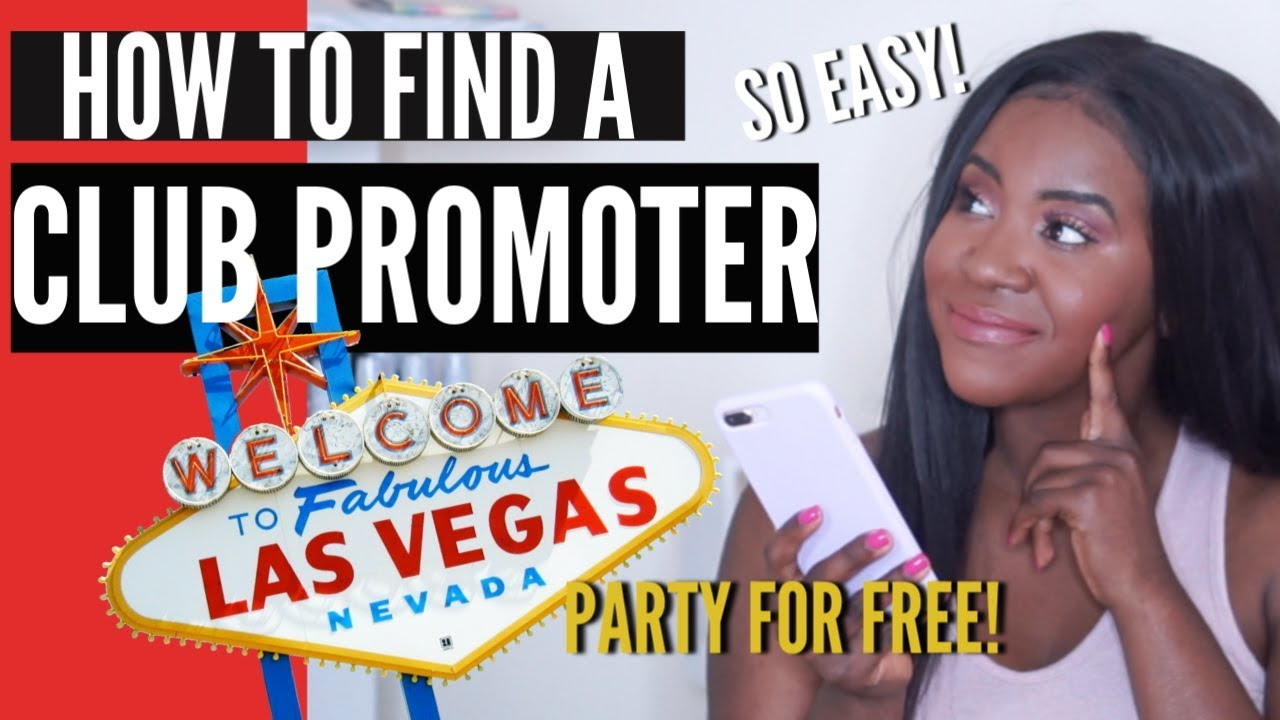 HOW TO FIND A CLUB PROMOTER IN LAS VEGAS! SUPER EASY!!