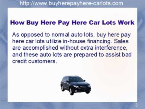 How Does A Buy Here Pay Here Work >> Buy Here Pay Here Car Lots How They Work Youtube