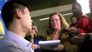 Jeremy Lin news conference