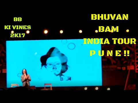 First BB INDIA TOUR-(BHUVAN BAM)  PUNE LIVE😍😍 FULL OFFICIAL VIDEO
