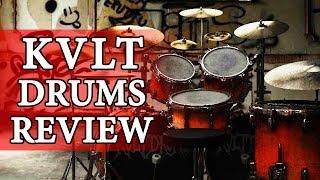 �������� ���� BLACK METAL DRUM SOFTWARE! - KVLT Drums VST Review ������
