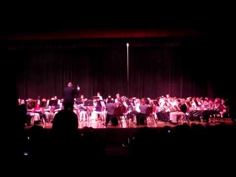 7th Grade Honor Band ~ Aftershock Larry Clark