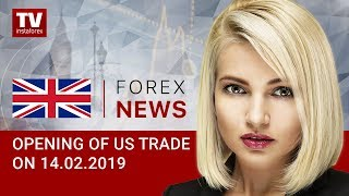 InstaForex tv news: 14.02.2019: Nothing can disrupt USD rally (USDX, USD/CAD)