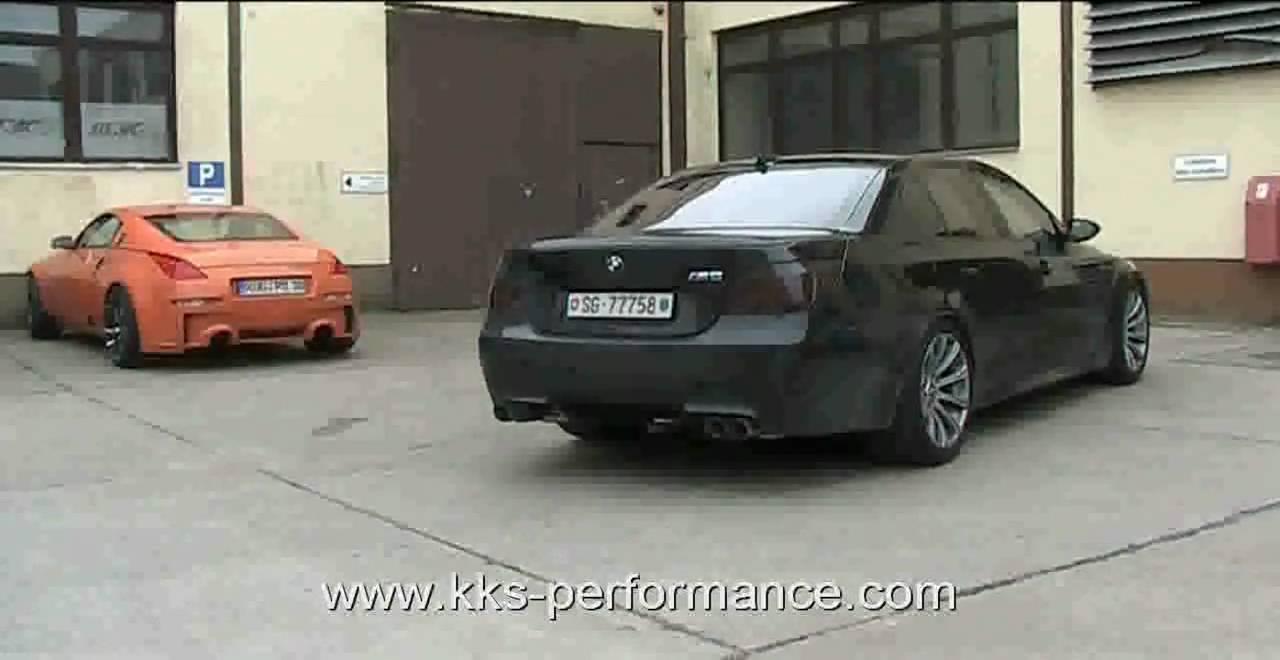 bmw m5 e60 exhaust sound klappenauspuff kks performance youtube. Black Bedroom Furniture Sets. Home Design Ideas