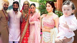 Full Video: Sonam Kapoor's Grand Wedding | Jhanvi Kapoor, Anand Ahuja, Taimur Ali Khan