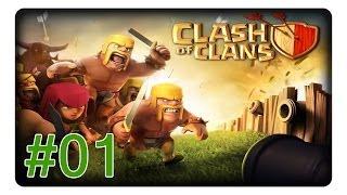 Clash of Clans #01 Unser kleines Dorf «» Let's Play | Deutsch