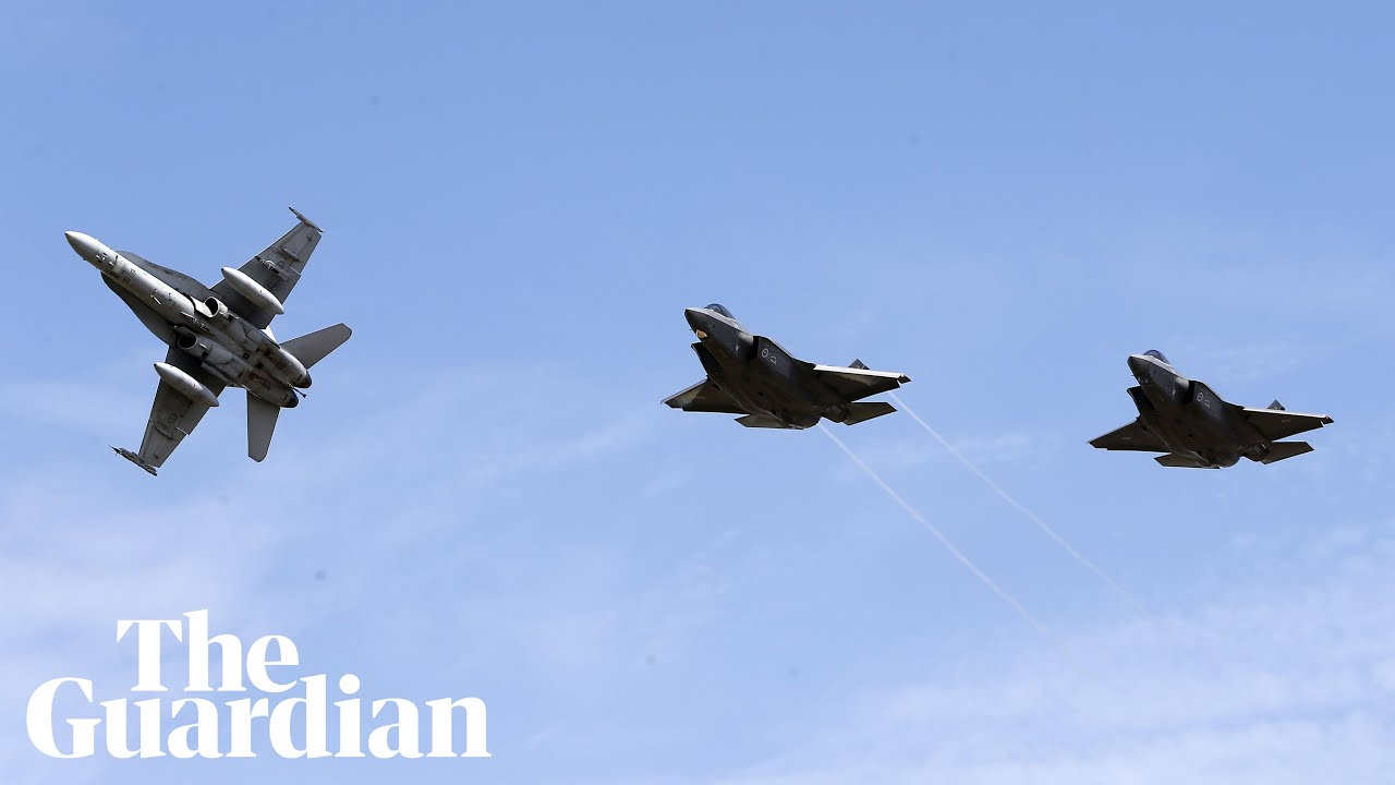 First two F-35A fighter jets to arrive in Australia amid warning on