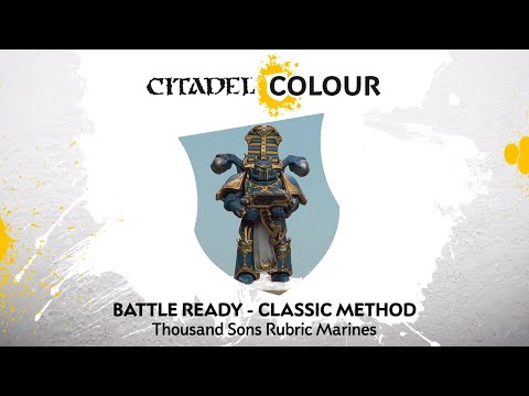 how-to-paint:-battle-ready-thousand-sons-rubric-marines-–-classic-method