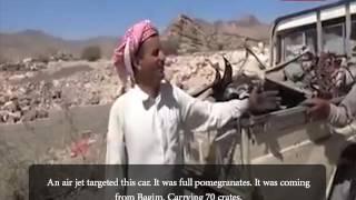 Saudi war Crimes in Yemen: Targeting Farmers and Pomegranate F…