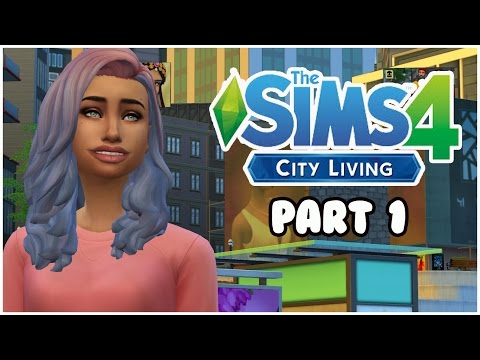 The Sims 4: City Living - Single Mom | Part 1 - Moving to the City!