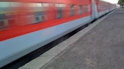 Rajdhani Express at its Full Speed