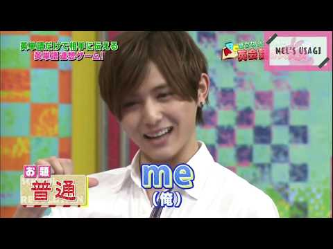 Hey! Say! JUMP - Speaking English Compilation (英語まとめ) #2  || Mel's Usagi