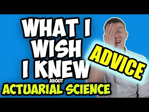 10 Tips And Tricks I Wish I Knew Before Becoming An Actuarial Science Major (Actuary Major)