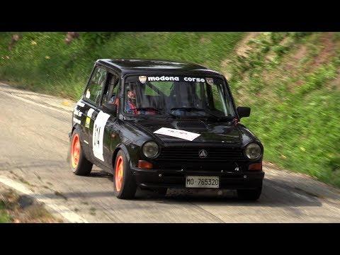 Autobianchi A112 Abarth - Rally di Modena - Action & on board