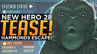 Overwatch: NEW Hero 28 Teaser! - Hammonds ESCAPE Pod!