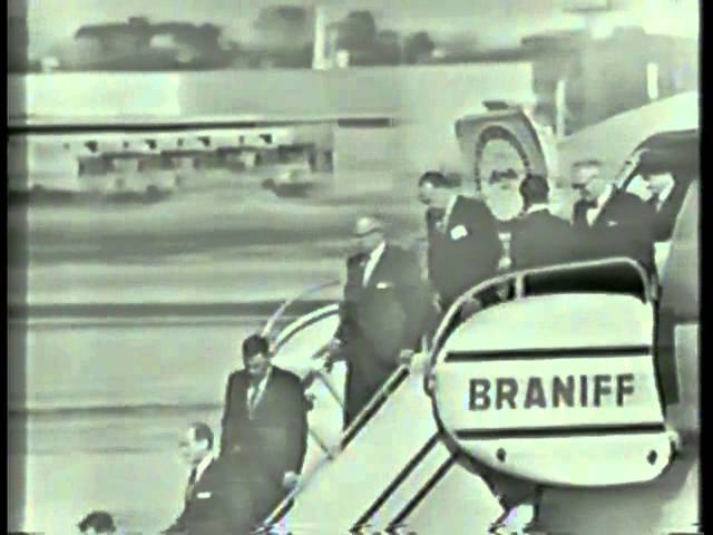 President Kennedy Lands in Dallas (11:25 A.M - 11:57 A.M) Friday 11-22-1963 )