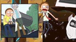 Rick and Morty - Morty gradually becoming more assertive