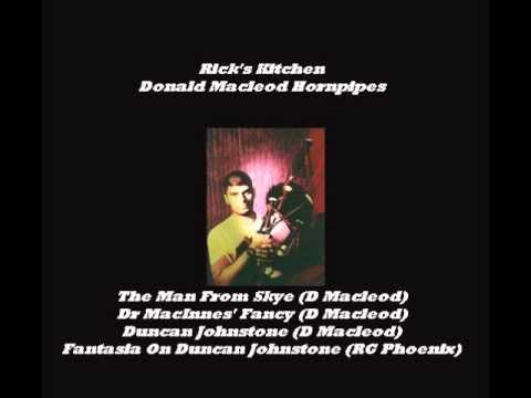 Donald Macleod Hornpipes: The Man From Skye/Dr Macinnes' Fancy/Duncan Johnstone